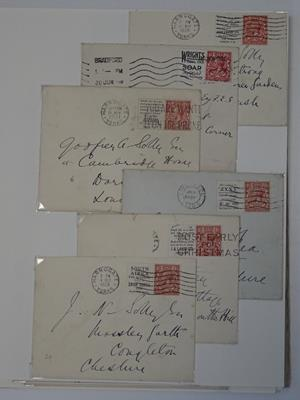 Great Britain, the KGV and KEVIII volume, a Windsor album brimming with varieties and covers, - Image 9 of 12