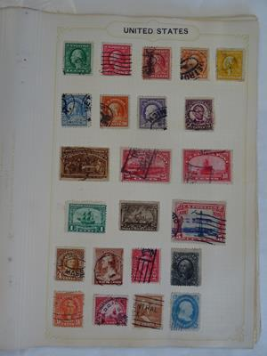 Great Britain, Commonwealth and Worldwide, vintage collection of great charm, offered intact as - Image 9 of 9