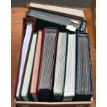 Great Britain, balance of the collection, the collector's working accumulation, a carton of 8