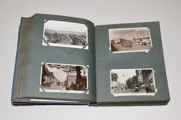 A Blue Album Containing Approx. 250 Postcards of Yorkshire. A wide selection over different - Image 4 of 5