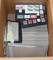 Foreign Countries, a collector's accumulation on over 400 stockcards with several stamps on each,
