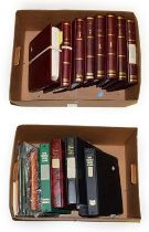 Australia 1913-2013, Mint Collection in eight SG printed albums and further volumes of