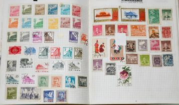 GB and Worldwide, interesting large box of albums, packets, FDCs, etc., including vintage ledger-
