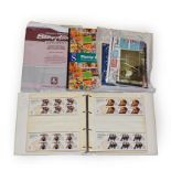 Great Britain, collection of prestige and other booklets, 'Smiler' sheets of the 2010s, 2012