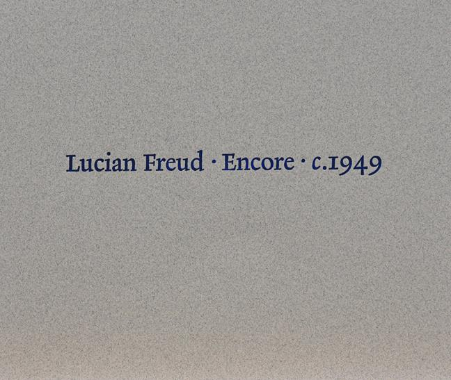 After Lucian Freud, OM CH (1922-2011) ''Encore'' Lithograph encased in the original card and - Image 2 of 2