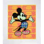 Ben Allen (b.1979) ''Monster Mickey'' (2020) Signed, inscribed, stamped and numbered 15/50, UV print