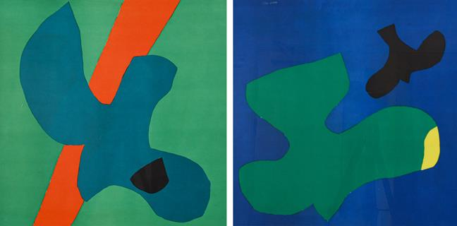 Philip Sutton, RA (b.1928) ''Vancouver'' (1966) ''Hawaii'' (1966) Each signed and numbered 12/250,