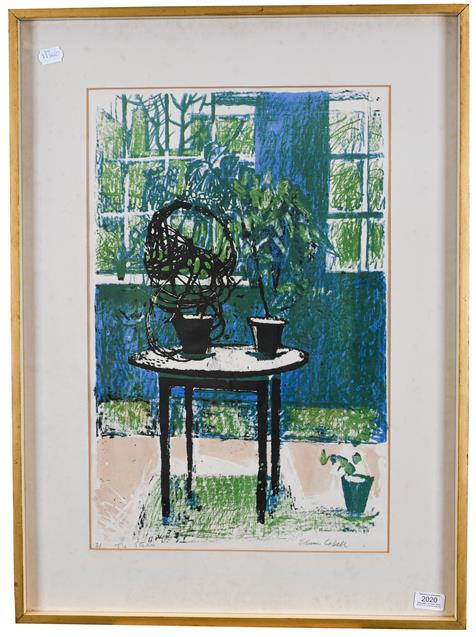 Edwin La Dell (1914-1970) ''The Studio'' Signed, inscribed and numbered 2/50, lithograph, 59.5cm - Image 2 of 2