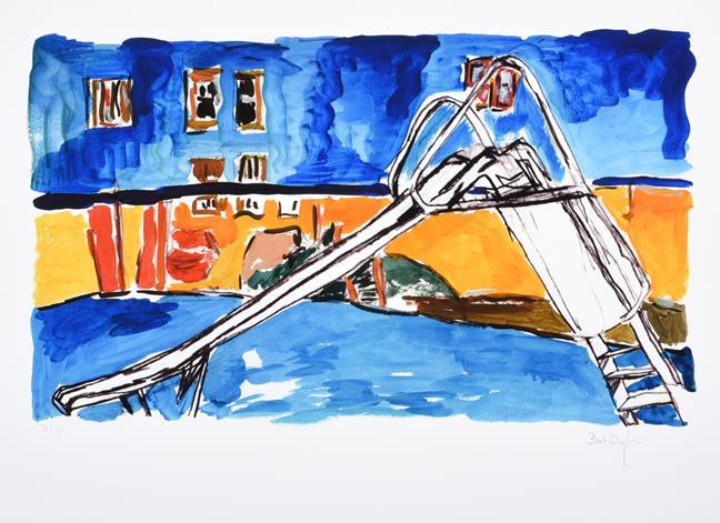Bob Dylan (b.1941) American ''The Drawn Blank Series'', (2014) Including ''Train Tracks'', '' - Image 4 of 10
