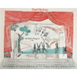 After David Hockney OM, CH, RA (b.1937) ''The Rake's Progress'' Lithographic poster created in