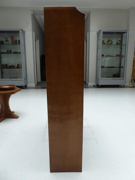 Workshop of Robert Mouseman Thompson (Kilburn): An English Oak 4ft Open Bookcase, solid ends and - Image 7 of 16