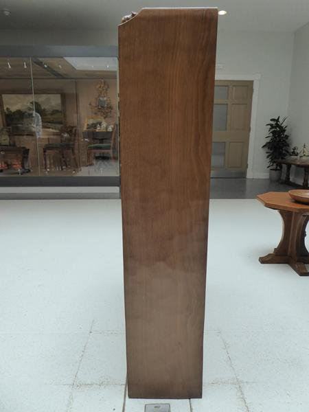 Workshop of Robert Mouseman Thompson (Kilburn): An English Oak 4ft Open Bookcase, solid ends and - Image 8 of 16