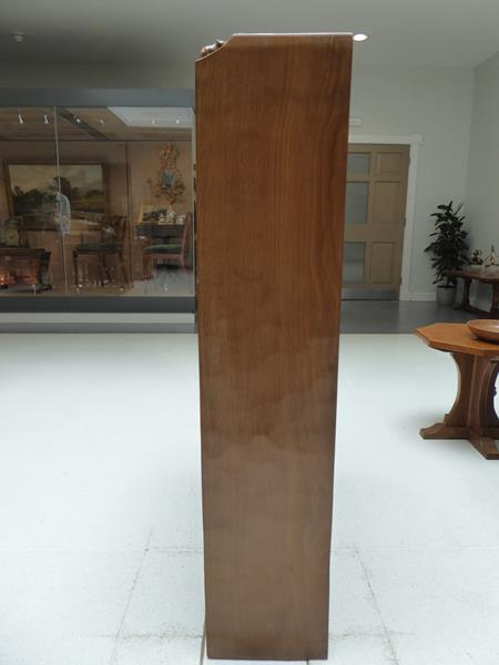 Workshop of Robert Mouseman Thompson (Kilburn): An English Oak 4ft Open Bookcase, solid ends and - Image 9 of 16