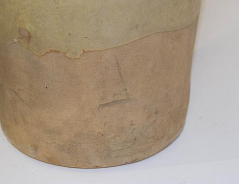 A 19th century baluster stoneware flagon, H Masterman of Thirsk, 50cm, together with another - Image 10 of 10