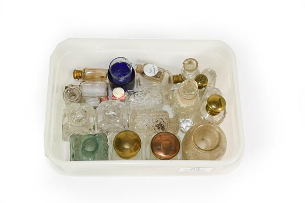 Three Boxes of Assorted Glass Scent and Other Bottle-Stoppers, variously formed and a small - Image 2 of 2