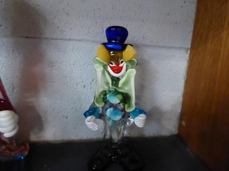 Seventeen Murano and Murano style clowns - Image 6 of 12