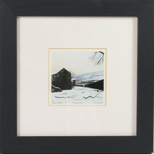 After Peter Brook RBA (1927-2009) ''Man Refusing an Offer for His Dog'' Signed and numbered A/P 5/ - Image 6 of 6
