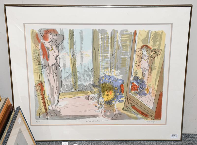 Edward Piper (1938-1990) ''Hotel de Calais á Nice II'' Signed, inscribed and numbered 48/150,