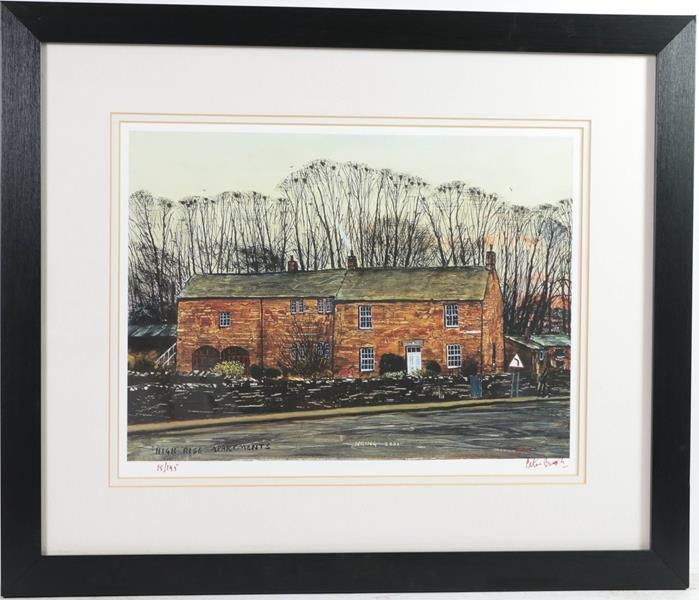 After Peter Brook RBA (1927-2009) ''Man Refusing an Offer for His Dog'' Signed and numbered A/P 5/ - Image 3 of 6