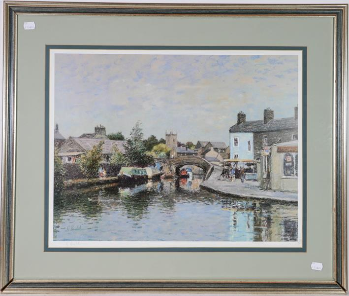 A large collection of colour racing prints, hunting prints and a landscape, various sizes (qty) - Image 15 of 20