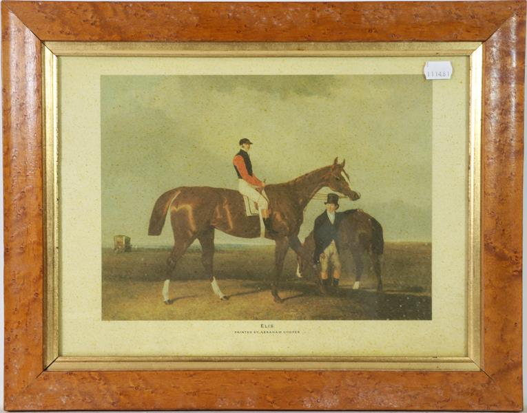 A large collection of colour racing prints, hunting prints and a landscape, various sizes (qty) - Image 8 of 20