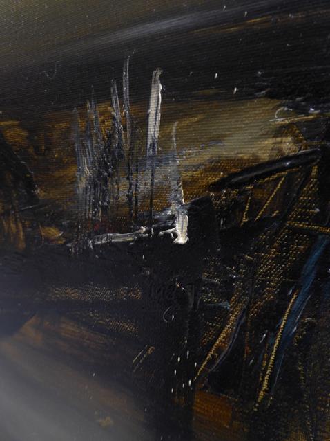 Kit Barker (1916-1988) ''Waldensee Polder'' Signed, inscribed verso, oil on canvas, 56cm by 91cm - Image 11 of 12