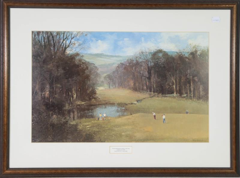 A large collection of colour racing prints, hunting prints and a landscape, various sizes (qty) - Image 14 of 20