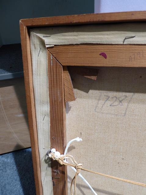Kit Barker (1916-1988) ''Waldensee Polder'' Signed, inscribed verso, oil on canvas, 56cm by 91cm - Image 5 of 12