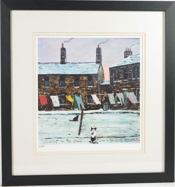 After Peter Brook RBA (1927-2009) ''Man Refusing an Offer for His Dog'' Signed and numbered A/P 5/ - Image 2 of 6