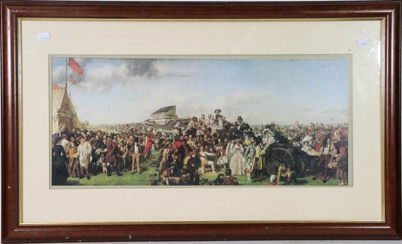 A large collection of colour racing prints, hunting prints and a landscape, various sizes (qty) - Image 2 of 20