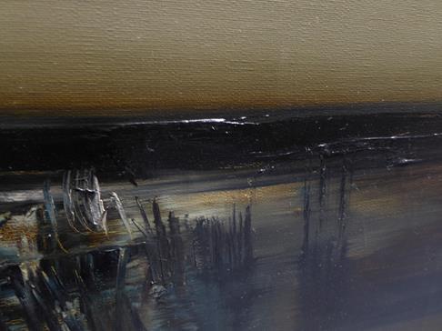 Kit Barker (1916-1988) ''Waldensee Polder'' Signed, inscribed verso, oil on canvas, 56cm by 91cm - Image 10 of 12