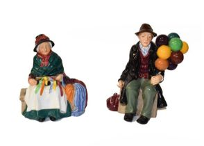 Royal Doulton Figures Including ''The Favourite'', HN2249 and ''Noel'', HN2179, etc (7)
