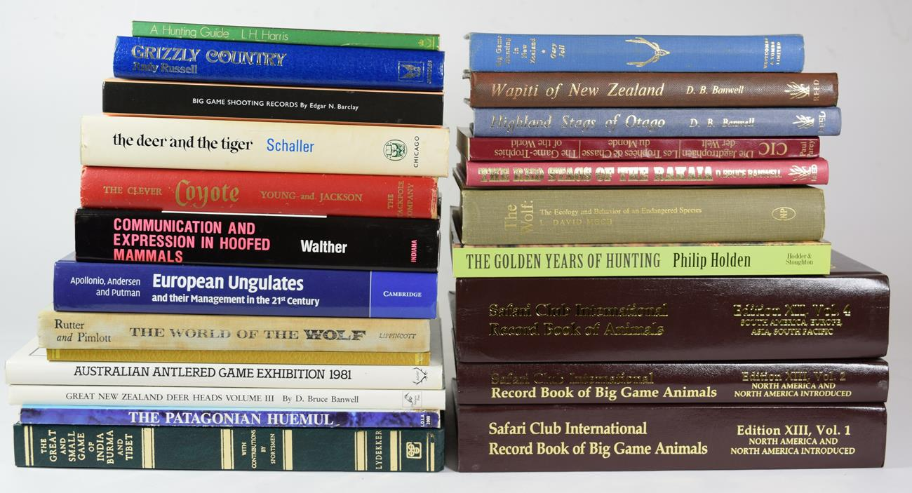 Deer Interest: A Selection of Books Relating to Game Trophy Hunting, Deer, and other Game Animals,