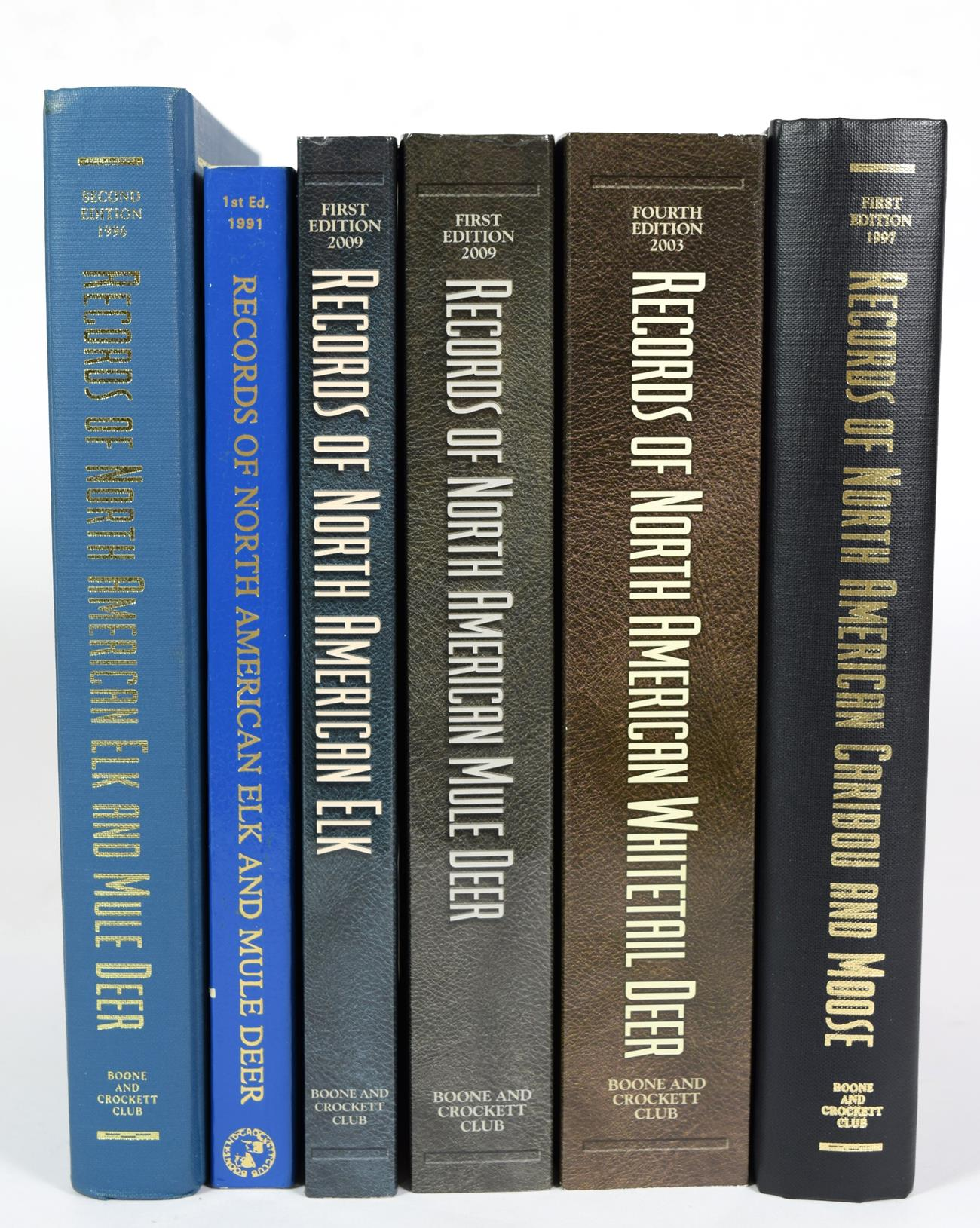 Deer Interest: Boone & Crockett Club, ''Records of North American Elk and Mule Deer'' 1st edition