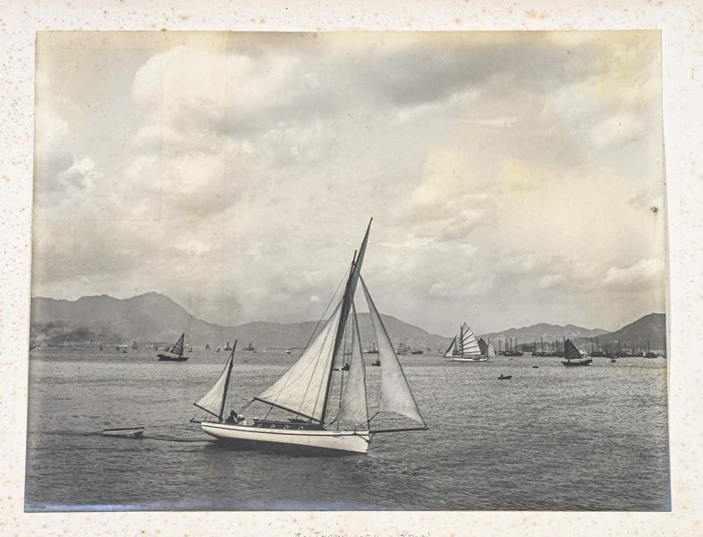 Hong Kong. Photograph album depicting a tour by Lieutenant William Gray Rawlinson (1890-1915), 2nd - Image 2 of 11