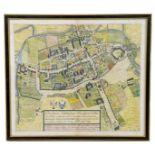 Oxford. Oxonia Antiqua Instaurata. Sive Urbis et Academiae Oxoniensis Topographica delineatio olim a