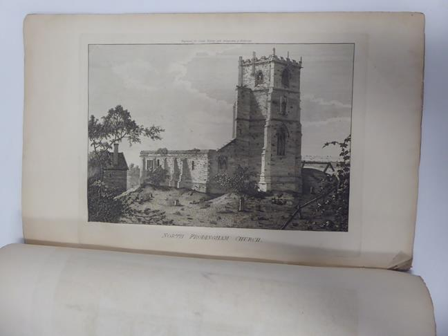 Davis (J. Scarlett). Twelve Views in Lithography, of Bolton Abbey,. Wharfedale, Yorkshire, 1st - Image 4 of 5