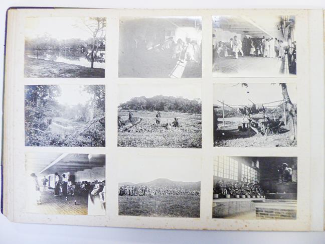 Hong Kong. Photograph album depicting a tour by Lieutenant William Gray Rawlinson (1890-1915), 2nd - Image 5 of 11