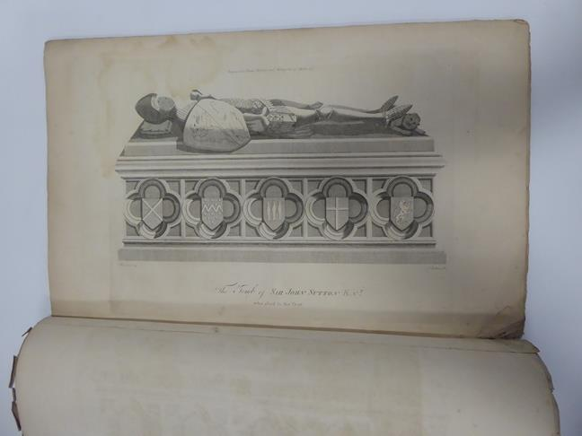 Davis (J. Scarlett). Twelve Views in Lithography, of Bolton Abbey,. Wharfedale, Yorkshire, 1st - Image 2 of 5
