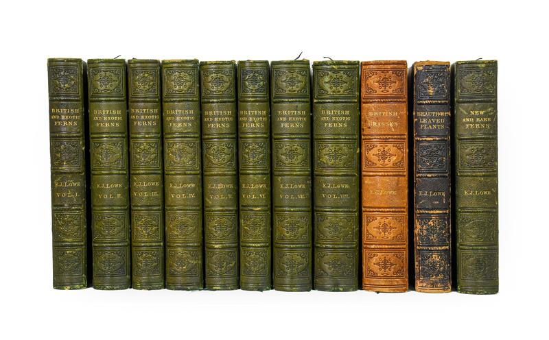 Lowe (Edward Joseph). Ferns: British and Exotic, 1st edition, mixed issues, London: Groombridge