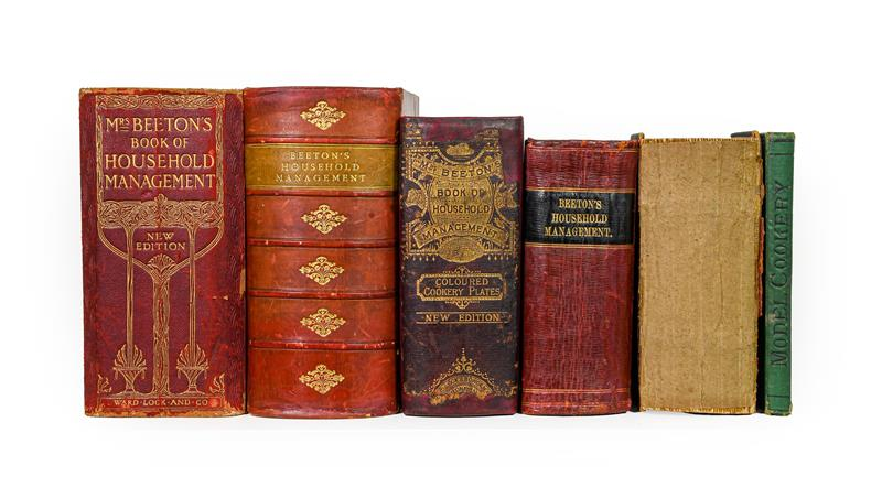 Beeton (Isabella). The Book of Household Management, 5 copies, mixed editions, comprising: 1)