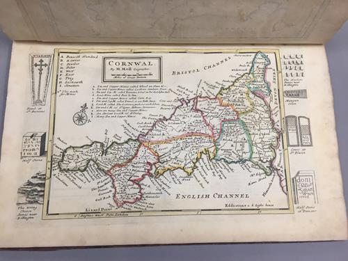 Moll (Herman). A Set of Fifty New and Correct Maps of England and Wales, etc. With the Great Roads - Image 4 of 7