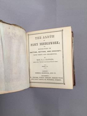Baynes (Mrs G. J.). [Sammelband of knitting and needlework manuals], London: Simpkin, Marshall & - Image 3 of 9