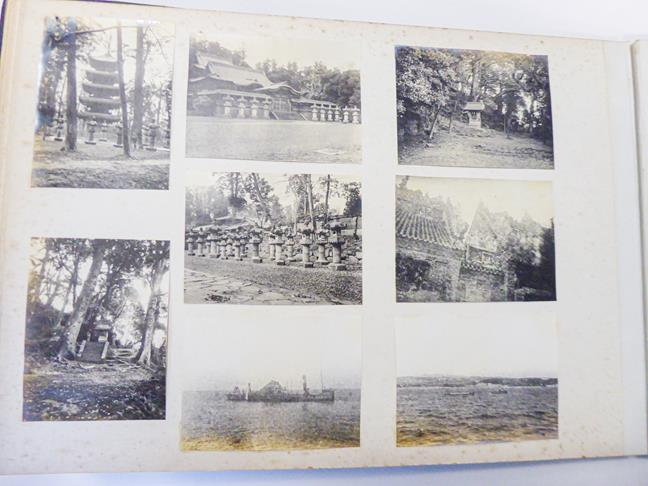 Hong Kong. Photograph album depicting a tour by Lieutenant William Gray Rawlinson (1890-1915), 2nd - Image 6 of 11
