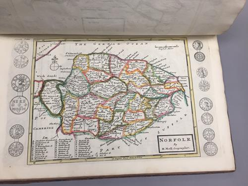 Moll (Herman). A Set of Fifty New and Correct Maps of England and Wales, etc. With the Great Roads - Image 6 of 7