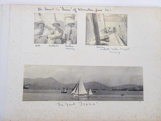Hong Kong. Photograph album depicting a tour by Lieutenant William Gray Rawlinson (1890-1915), 2nd - Image 9 of 11
