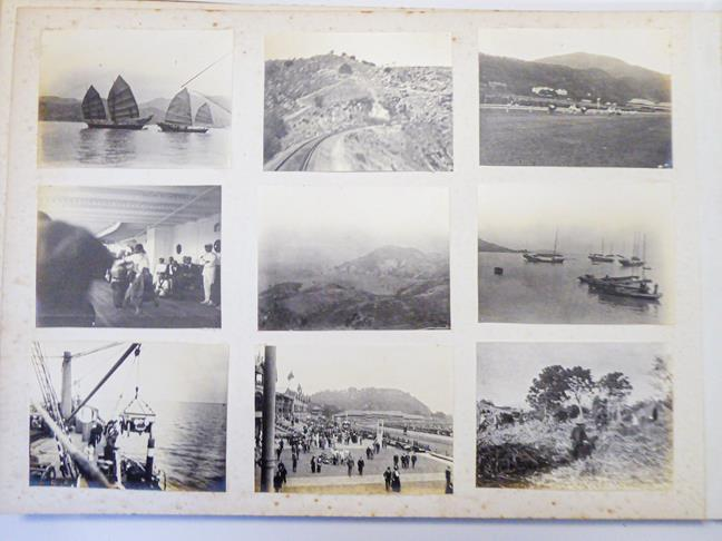 Hong Kong. Photograph album depicting a tour by Lieutenant William Gray Rawlinson (1890-1915), 2nd - Image 11 of 11