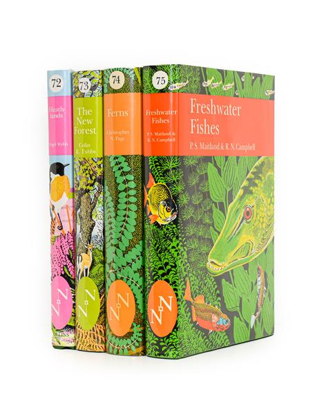 New Naturalists. Heathlands; The New Forest; Ferns; Freshwater Fishes, Collins [-