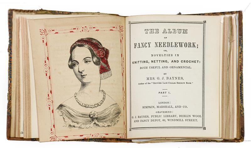 Baynes (Mrs G. J.). [Sammelband of knitting and needlework manuals], London: Simpkin, Marshall & - Image 2 of 9