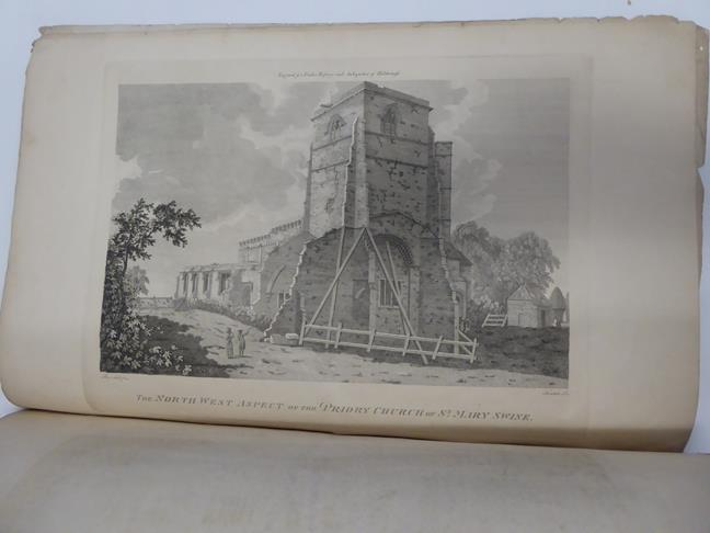 Davis (J. Scarlett). Twelve Views in Lithography, of Bolton Abbey,. Wharfedale, Yorkshire, 1st - Image 5 of 5